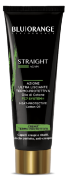 Ultra-smoothing cream heat protective action