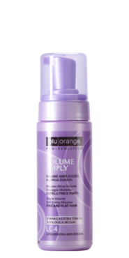 Active volume soft fixing mousse