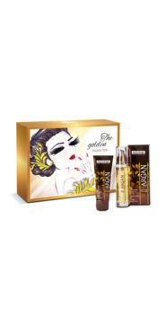 Golden beauty box
